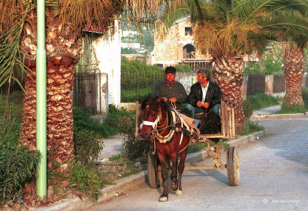 horse-farmer-albania