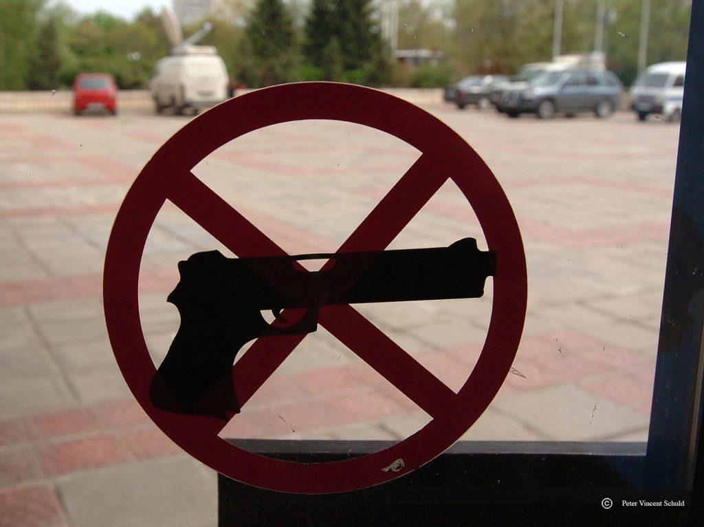 vuurwapenverbod
