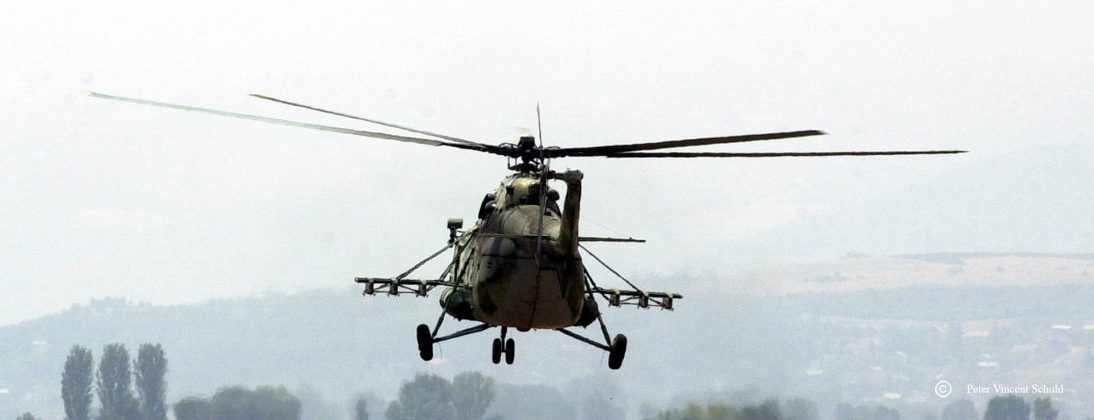 macedonian-army-helicopter